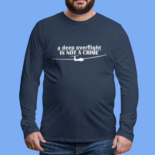 tiefer Überflug  - Men's Premium Longsleeve Shirt
