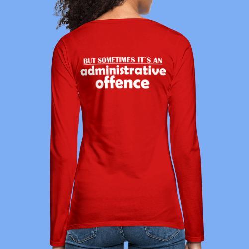 tiefer Überflug  - Women's Premium Longsleeve Shirt