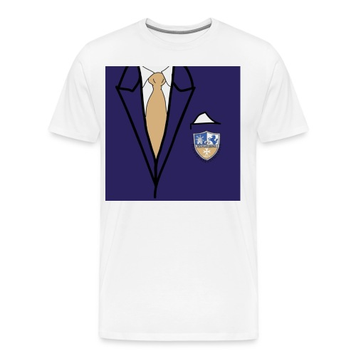 Anzug Shirt - Männer Premium T-Shirt