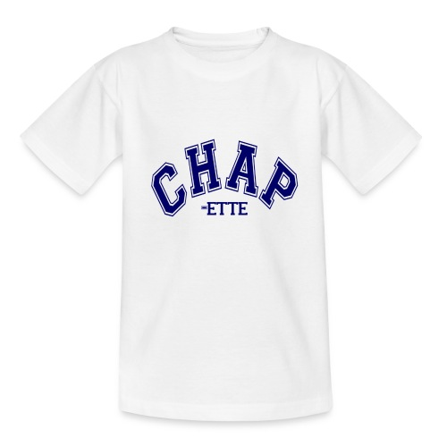 Kids 'CHAPette' Logo T (Girls) - Teenage T-Shirt