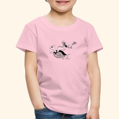 Taucher und Ariella - Kinder Premium T-Shirt