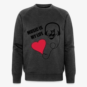 Music - Männer Sweater - Männer Bio-Sweatshirt von Stanley & Stella