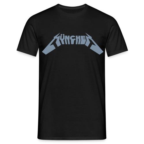 Metalmünchen metallicsilber - Männer T-Shirt
