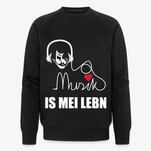 Musik is - Herren Sweater - Männer Bio-Sweatshirt von Stanley & Stella