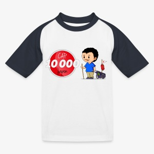 T-shirt baseball Enfant Cap 10.000 Japon - T-shirt baseball Enfant
