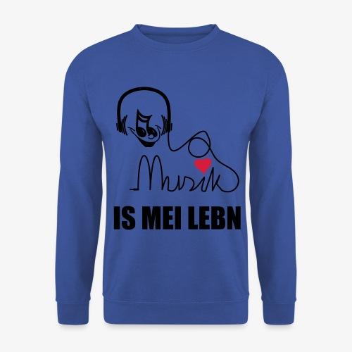 Musik is - Herren Pullover - Männer Pullover