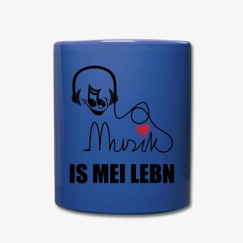 Musik is - SUTO Tasse - Tasse einfarbig