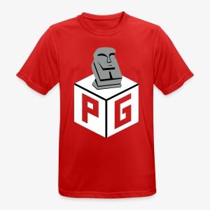 Preikestolen Gamers - Pustende T-skjorte for menn
