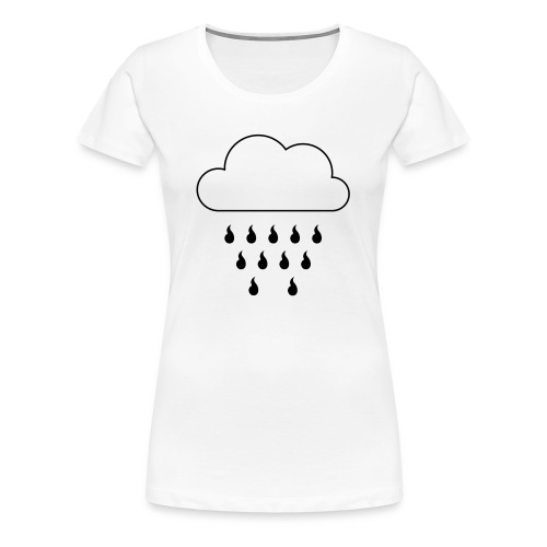 Frauen Premium T-Shirt Wappenregen - Frauen Premium T-Shirt