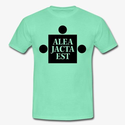 Alea Jacta Est - T-skjorte for menn