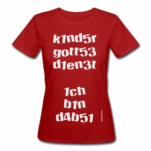 KIndergottesdienst-Zahlenwirrwarr 2 - Frauen Bio-T-Shirt