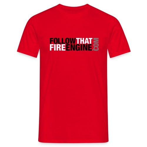 FTFE Red Classic T-shirt - Men's T-Shirt