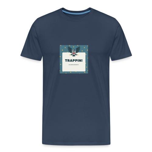 trappin t - Premium-T-shirt herr
