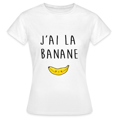 Banane - T-shirt Femme