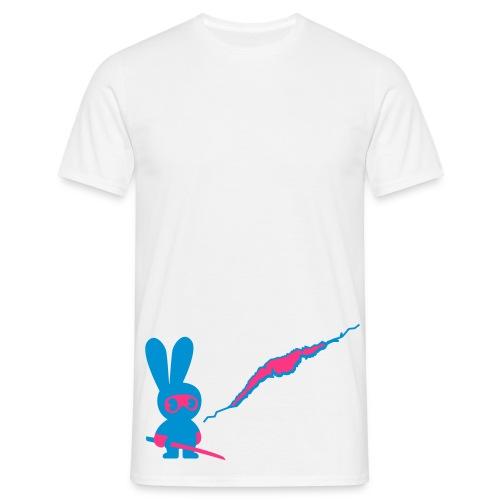 Ninja Bunny - T-skjorte for menn