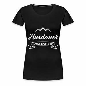 Ausdauer - Signature (F) - Frauen Premium T-Shirt