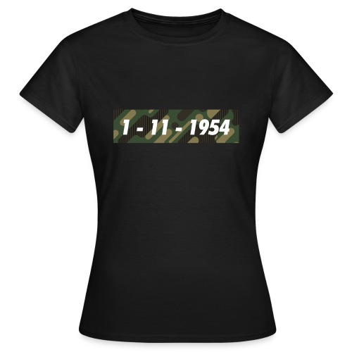 1er Novrembre 1954 - Algérie - T-shirt Femme