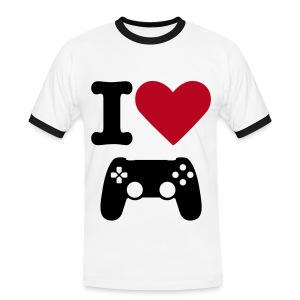 I love video games - T-shirt contrasté Homme
