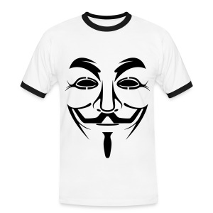 Anonymous - T-shirt contrasté Homme