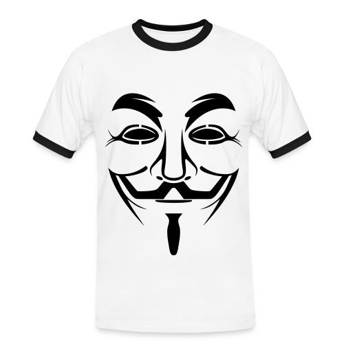 Anonymous - T-shirt contrasté Homme