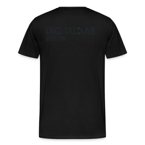 DigiLab - Men - black - Männer Premium T-Shirt