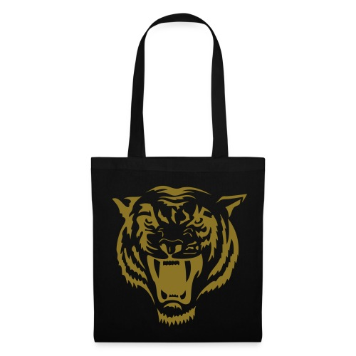tiger tote bag gold - Tote Bag