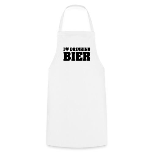 I love drinking Beer - Kochschürze