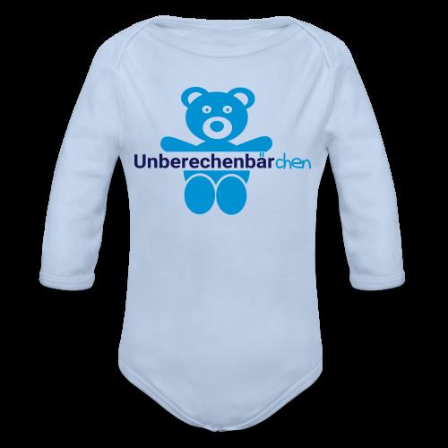 Unberechenbärchen Body - Baby Bio-Langarm-Body