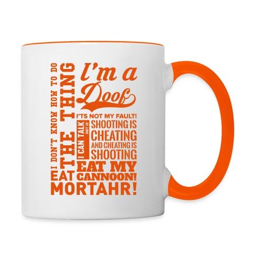 All Quotes Mug - Contrasting Mug