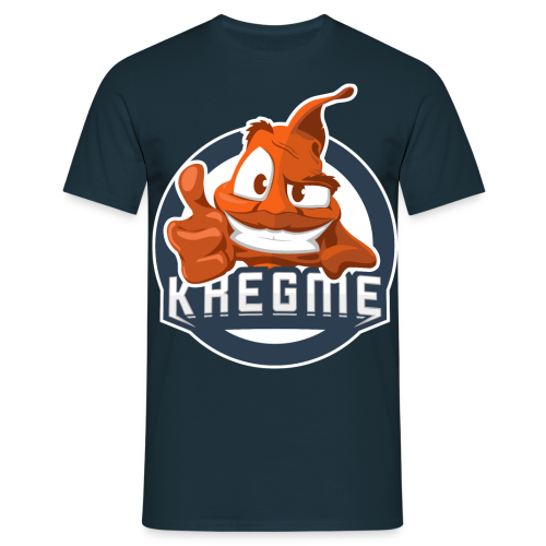 Kregme TShirt Logo NY - Herre-T-shirt