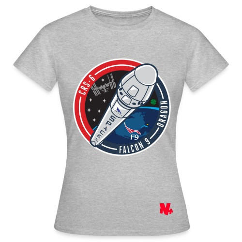 T Shirt Space x and Nico Plus - FEMME - T-shirt Femme