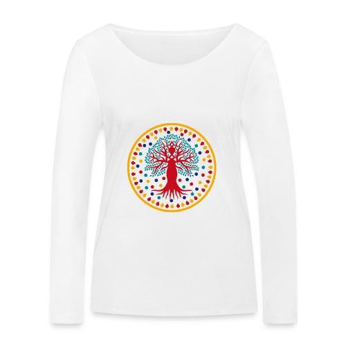 Albero dei Talenti organic cotton long sleeve t-shirt - Maglietta a manica lunga ecologica da donna di Stanley & Stella