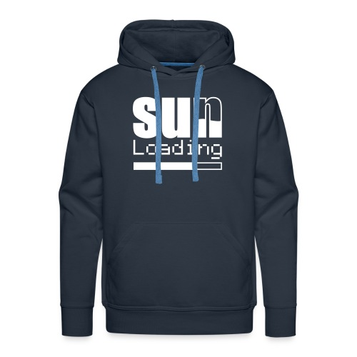 sun loading - Men's Premium Hoodie