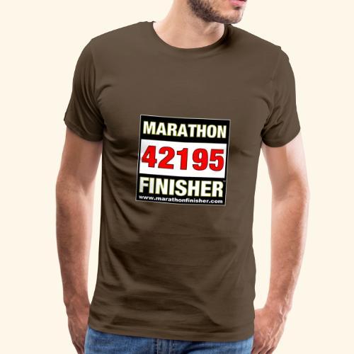 MARATHON FINISHER 42195 - Men's Premium T-Shirt