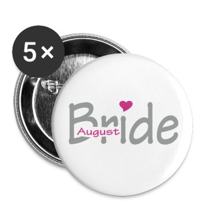 August Bride - Buttons groot 56 mm