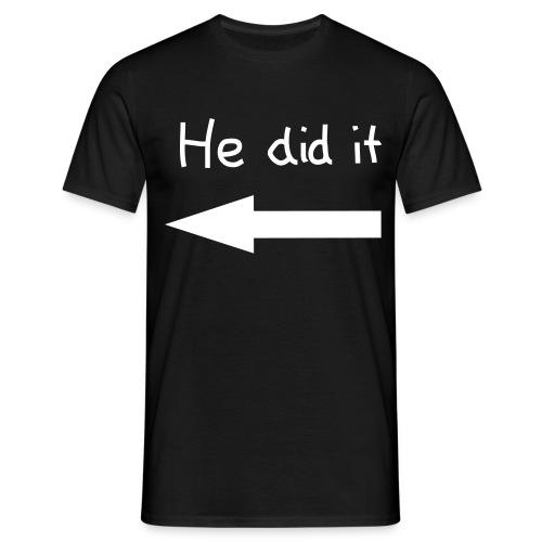 Koszulka  He did it - Koszulka męska