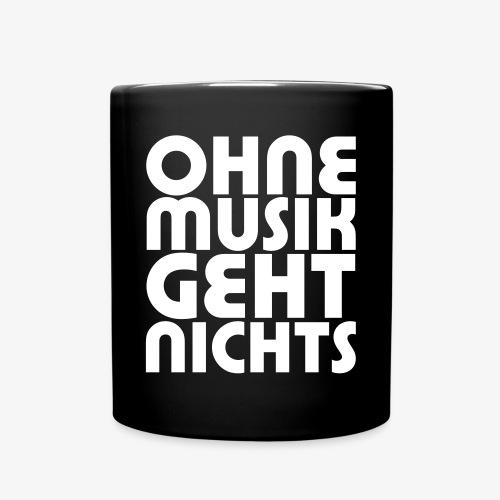Ohne Musik - SUTO Tasse - Tasse einfarbig
