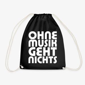 Ohne Musik - SUTO Turnbeutel - Turnbeutel