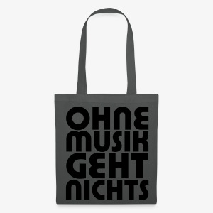 Ohne Musik - SUTO Stoffbeutel - Stoffbeutel