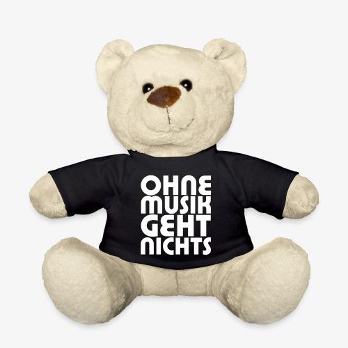 Ohne Musik - SUTO Teddybär - Teddy