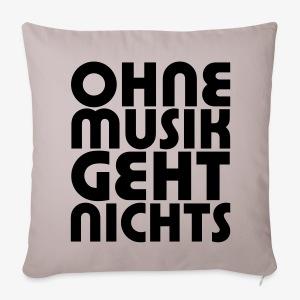 Ohne Musik - SUTO Sofakissenbezug - Sofakissenbezug 44 x 44 cm