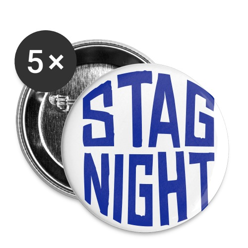 stag night - Buttons medium 1.26/32 mm (5-pack)