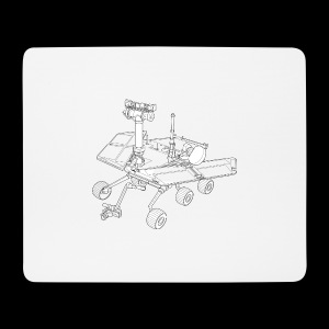 Marsrover - Mousepad (Querformat)