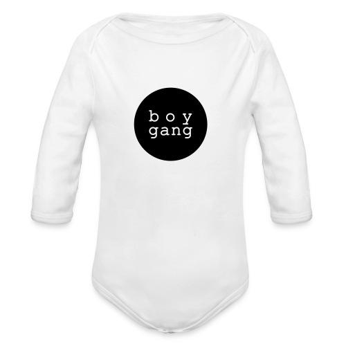 Baby Boy: BOY GANG (bis Größe 92)  - Baby Bio-Langarm-Body