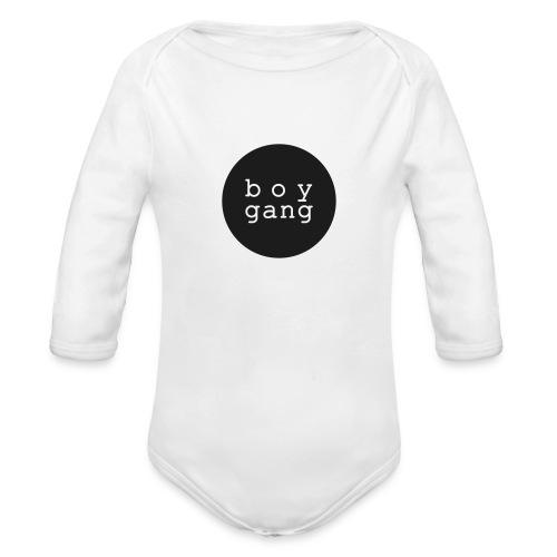 Baby Body: BOY GANG (bis Größe 92)  - Baby Bio-Langarm-Body