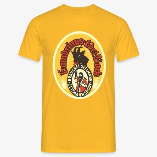 T-Shirt Brauerei Seelmann Retro Bockbier verschiedene Farben - Männer T-Shirt