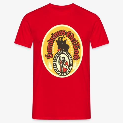 Tshirt Seelmann Bockbier verschiedene Farben - Männer T-Shirt