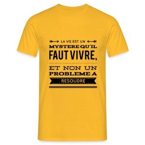 T-shirt Homme Nuréa : Mystère - T-shirt Homme