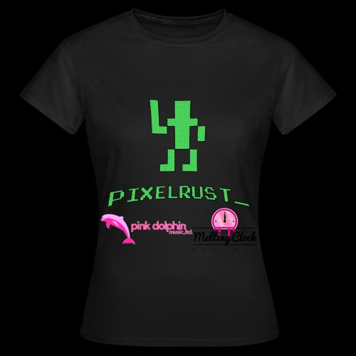 PixelRust black logo Lady's t-shirt - Women's T-Shirt