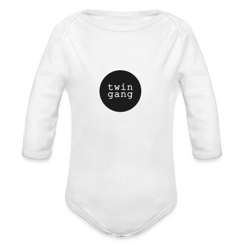 Baby Body: TWIN GANG (bis Größe 92)  - Baby Bio-Langarm-Body